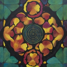 Mandala of Golden Spiral